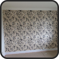A Wall with Wallpaper